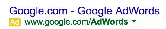 AdWords - Before