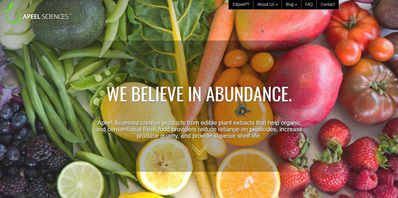 apeel sciences food tech digital marketing