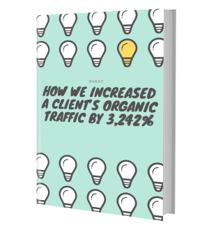 How we increased a client's organic traffic