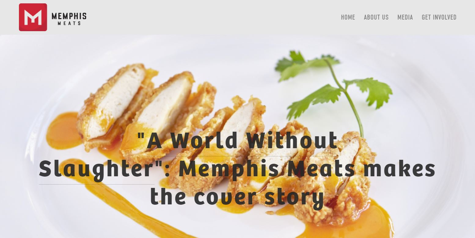 memphis meats food tech digital marketing